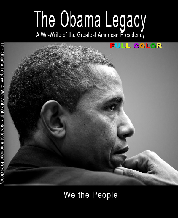 Obama Legacy Book 3-dimensional cover