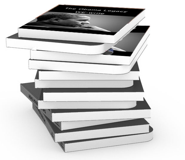 image of a stack of the paperback books